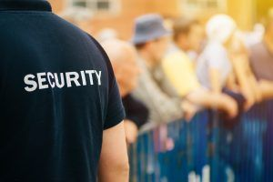How many security officers do you need